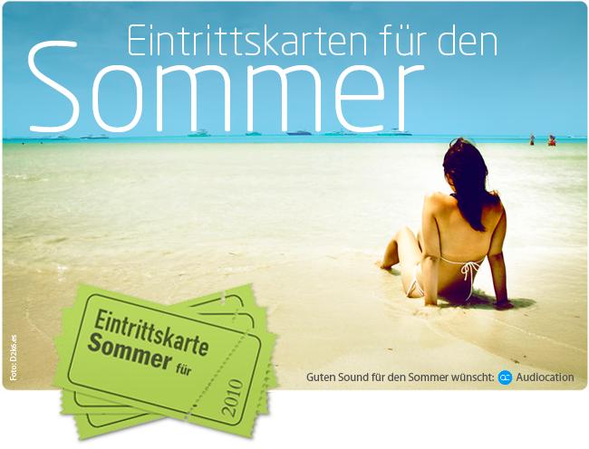Der Sommer mit Audiocation